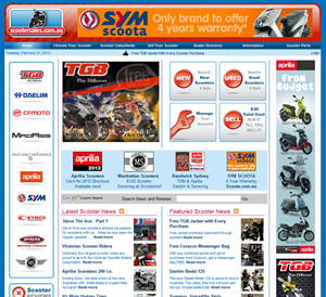 ScooterSales Portal