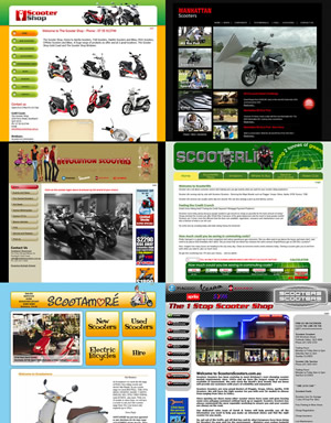 Scootersales Dealer websites